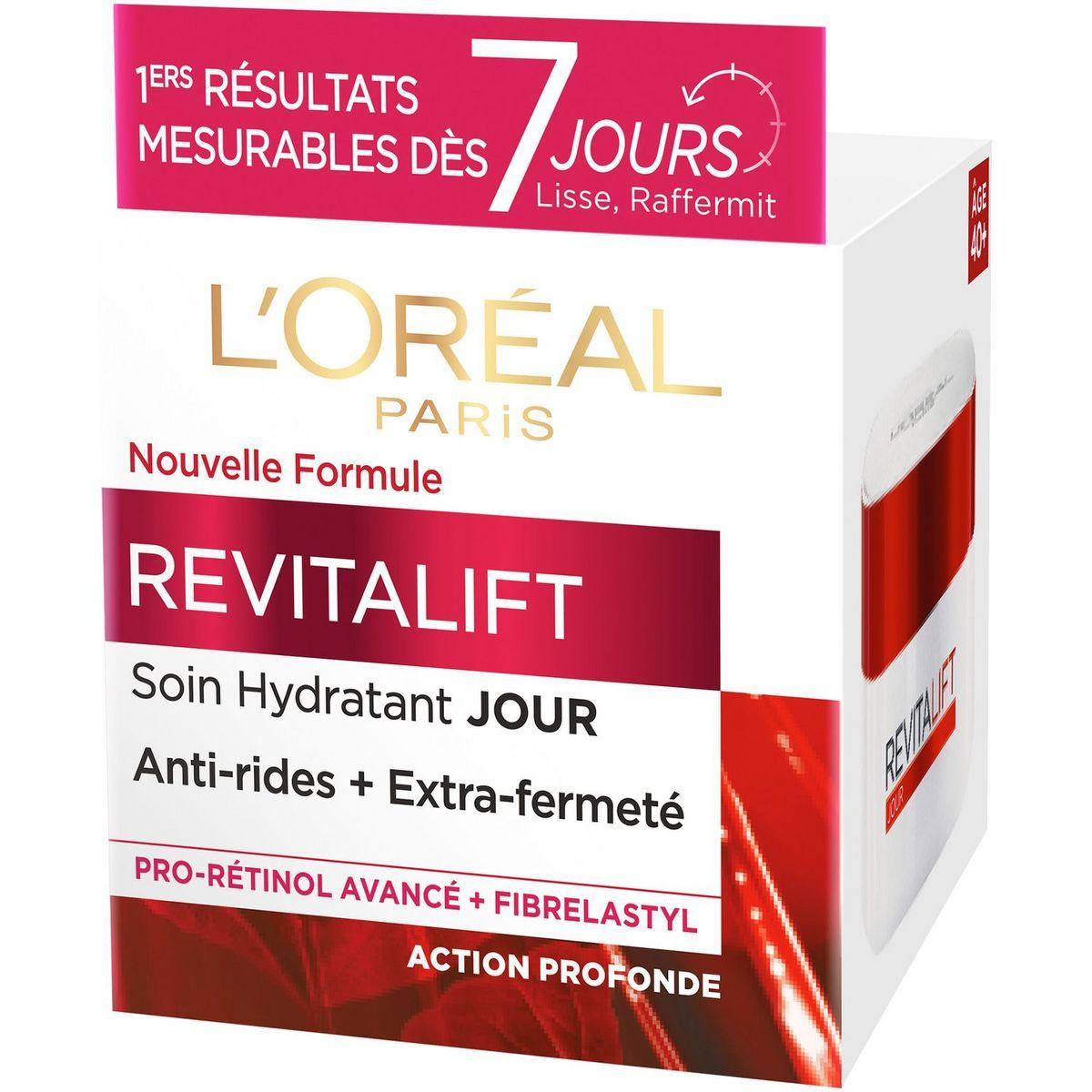 L'Oréal Revitalift soin de jour hydratant anti-rides extra-fermeté 50ml