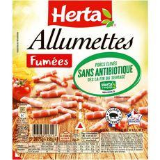 HERTA Allumettes fumées 2x75g