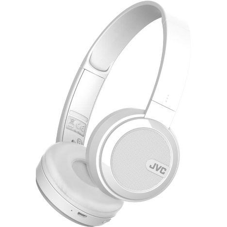 JVC Casque Bluetooth - Blanc - HA-S40BT