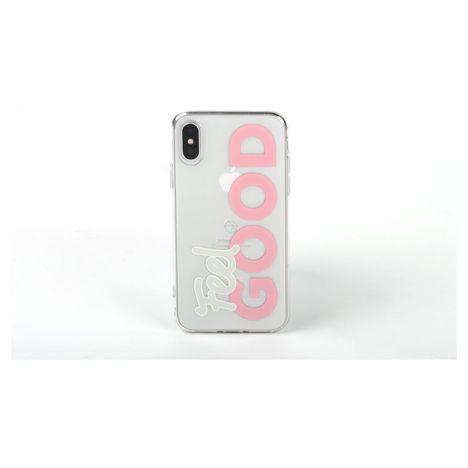 QILIVE Coque Trendy pour Apple iPhone 6/6S/7/8 - Blanc Good