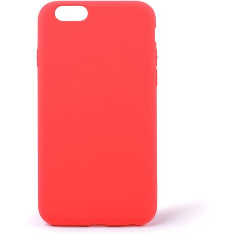 QILIVE Coque Silicone pour Apple iPhone 6/6S - Rouge