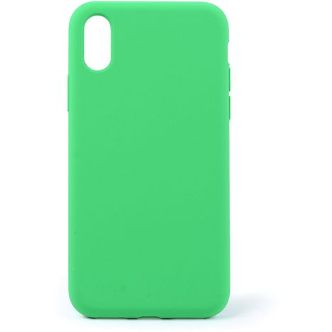 QILIVE Coque Silicone pour Apple iPhone X/XS - Vert