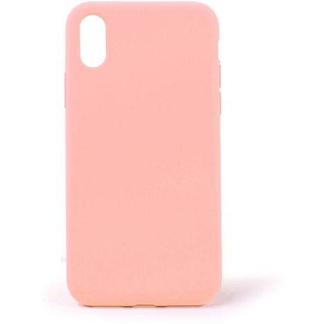 QILIVE Coque Silicone pour Apple iPhone X/XS - Rose