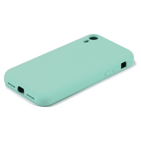 QILIVE Coque Silicone pour Apple iPhone XR - Bleu