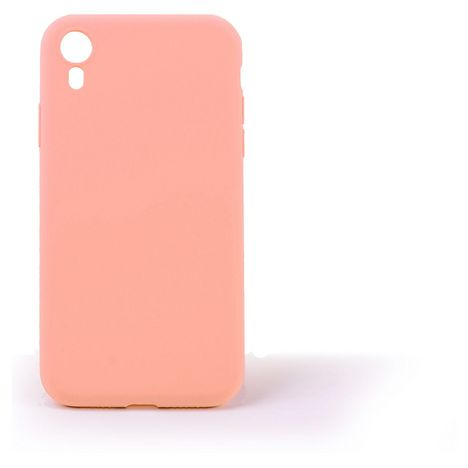 QILIVE Coque Silicone pour Apple iPhone XR - Rose