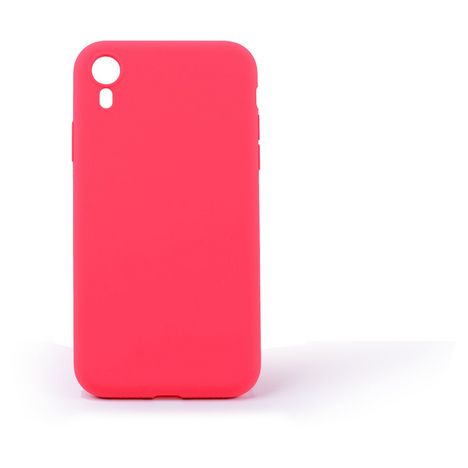 QILIVE Coque Silicone pour Apple iPhone XR - Rouge