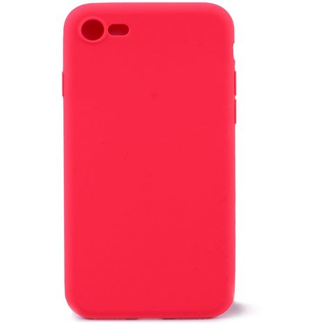QILIVE Coque Silicone pour Apple iPhone 7/8 - Rouge