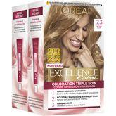 L'Oréal excellence crème coloration 7/3 blond doré x2