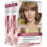 L'Oréal excellence crème coloration 7 blond x2