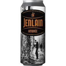 JENLAIN Bière ambrée de garde 7,5% boîte 50cl