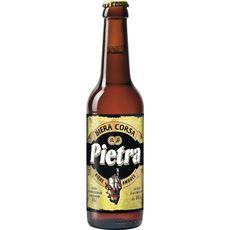 PIETRA Bière ambrée corse à la châtaigne 6% bouteille 33cl