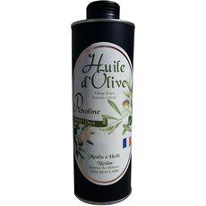 MOULIN A HUILE NICOLAS Huile d'olive vierge extra picholine bio extraite à froid 50cl