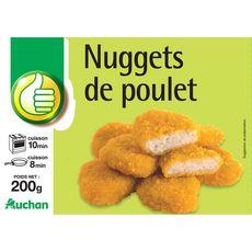 POUCE Nuggets de poulet 10 pièces 200g