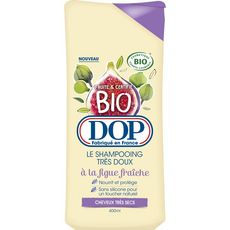 Dop Shampooing bio très doux figue fraîche cheveux très secs 400ml