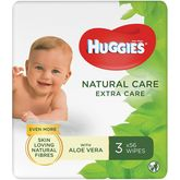 Huggies natural care extra 3x56