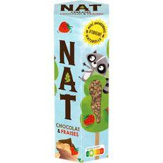 NAT Céréales chocolat et fraises 270g