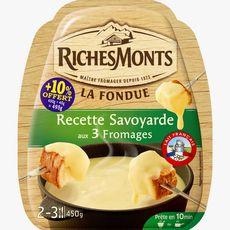RICHESMONTS Richesmonts fromage à fondue savoyarde 450g +10% offert