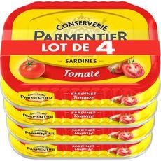 Parmentier PARMENTIER Sardines à la sauce tomate