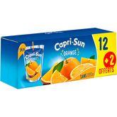 Capri-Sun orange 12x20cl + 2 offerts