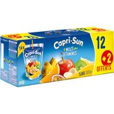 Capri-Sun multivitamines 12x20cl + 2 offerts