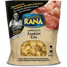 RANA Cappelletti au jambon cru 2 portions 250g