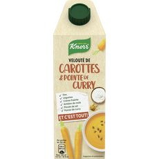 Knorr potage carottes curry 750ml