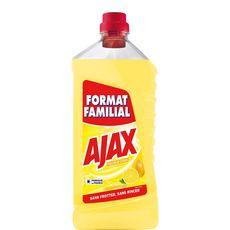 AJAX Nettoyant ménager multi-surfaces fraîcheur citron 1,5l