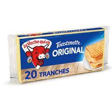 LA VACHE QUI RIT Toastinette Fromage pour croque monsieur 20 tranches 340g