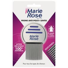 Marie Rose Peigne anti-poux & lentes x1