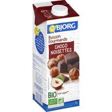 BJORG Boisson riz chocolat noisette bio 1l