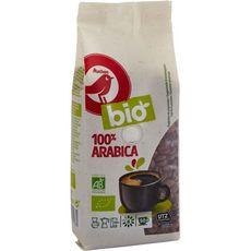 AUCHAN BIO Café en grains 100% arabica 250G