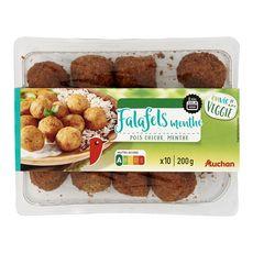 AUCHAN Auchan Falafels veggie menthe 10 pièces 200g 10 pièces 200g