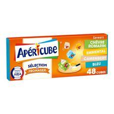 Apéricube APERICUBE Cubes de fromage apéritif Sélection du fromager