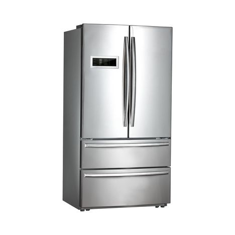 QILIVE Réfrigérateur multi portes 155486, 596 L, Froid no frost