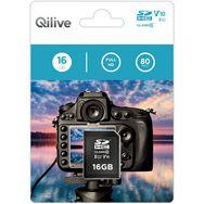 QILIVE Carte mémoire SDHC V10 16 Go