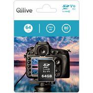 QILIVE Carte mémoire SDXC V10 64 Go
