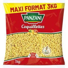 PANZANI Panzani Coquillettes maxi format 3kg 3kg
