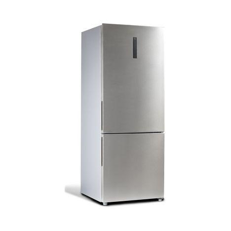 QILIVE Réfrigérateur combiné 154615, 432 L, Froid no frost