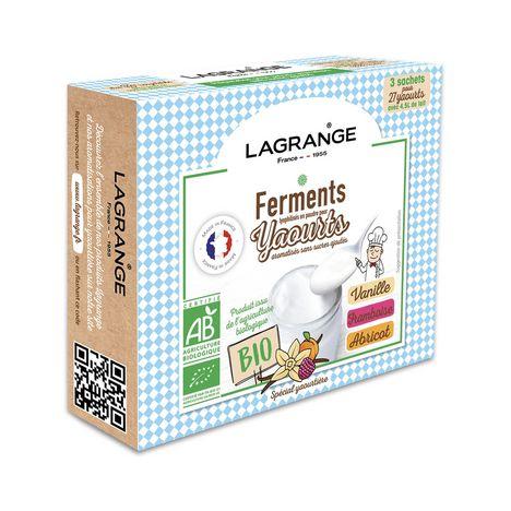 LAGRANGE Arôme pour yaourt VANIIFRAMBABRI 385003
