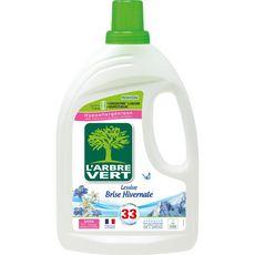 L'ARBRE VERT Lessive hypoallergénique brise hivernale 33 lavages 1,5l