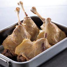 Confit de canard cuisse sous vide 4 pièces 1kg