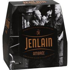 JENLAIN Bière de garde ambrée 7,5% bouteilles 6x25cl