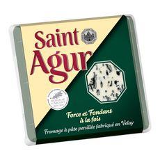 SAINT AGUR SAINT AGUR Fromage à pâte persillée 125g 125g