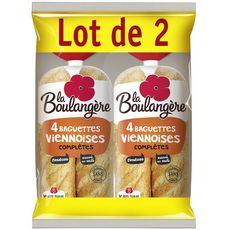 La Boulangère baguette viennoise complète 2x4 -680g