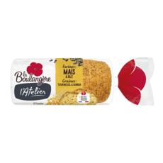 La Boulangère pain atelier maïs quinoa 270g