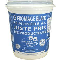 C'EST QUI LE PATRON? Fromage blanc 6.8%MG 1kg