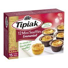 TIPIAK Mini soufflé à l'emmental 12 pièces 150g