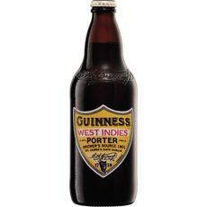 GUINNESS Bière blonde west indies 6% bouteille 50cl