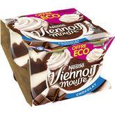 Nestlé Nestlé Le Viennois Mousse au chocolat 4x90g