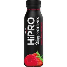 HIPRO Yaourt à boire fraise framboise protéiné 0% 300g